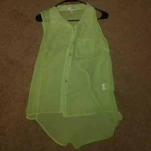 New without Tags Bongo Tank Top